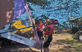 sailboard instructor training