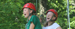 Ropes Course at Wyonegonic Camps in Maine